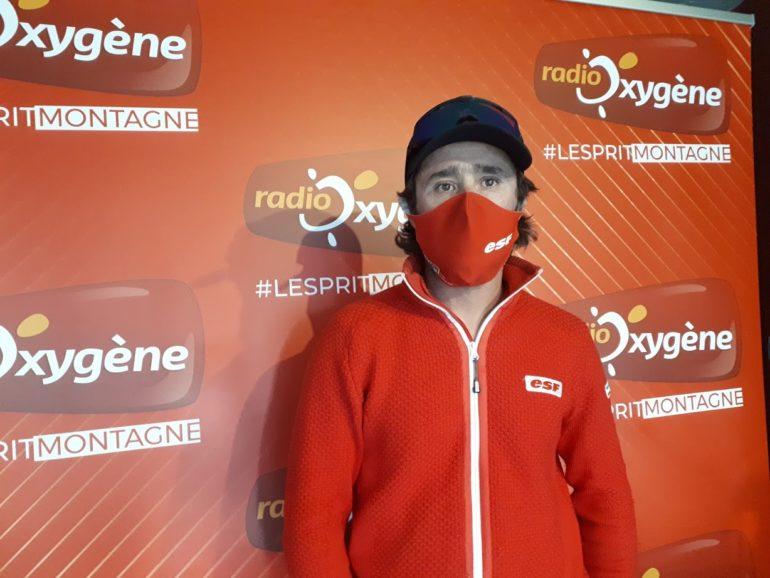 Cédric Robion, accompagnateur en montagne, moniteur de ski et membre du bureau des guides des Portes du Mercantour OEROC à Valberg.