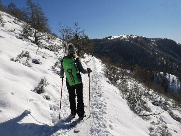 Pratique du SNOOC Touring à Valberg