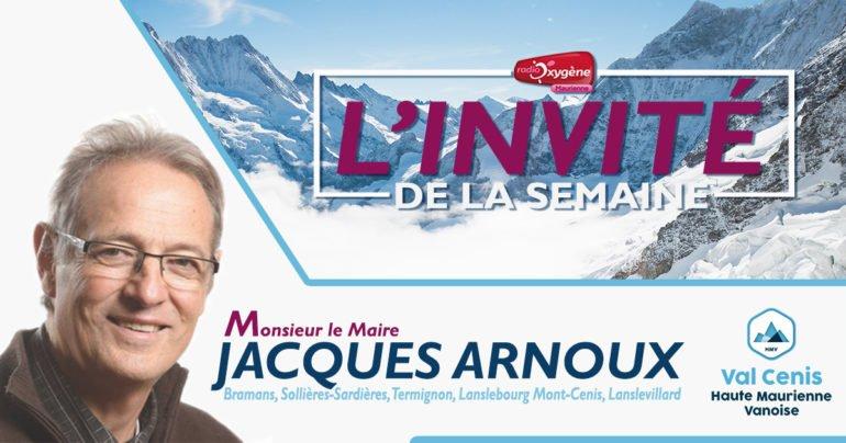 l'invité de la semaine Jacques Arnoux