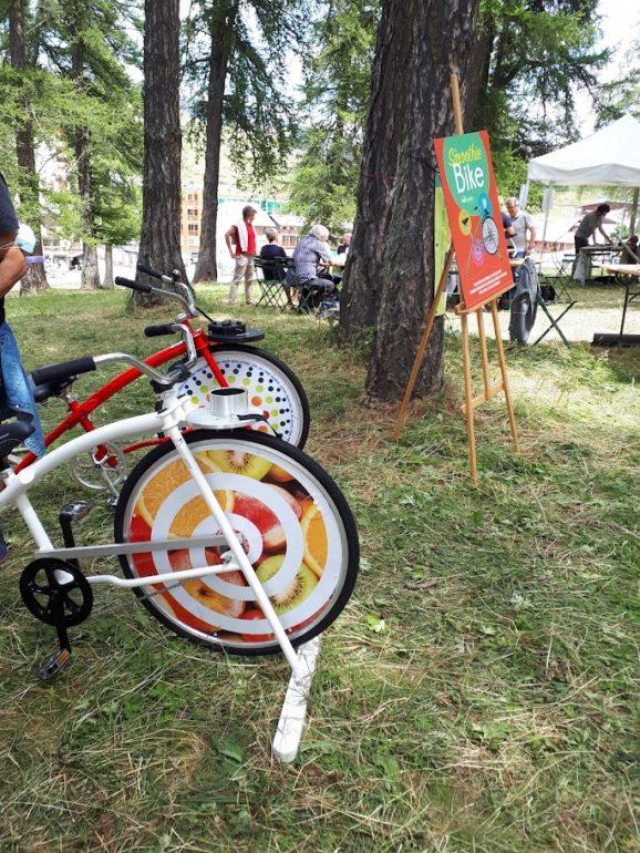 Vélos à smoothies / photo C.S